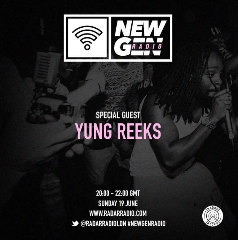 Yung Reeks joins this week's #NewGenRadio show