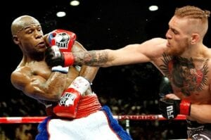 UFC Champion Conor McGregor challenges Floyd Mayweather to a fight