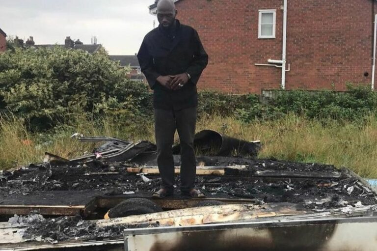 GoFundMe Page Launched For Manchester Chef Whose Food Truck Was Destroyed By Racists