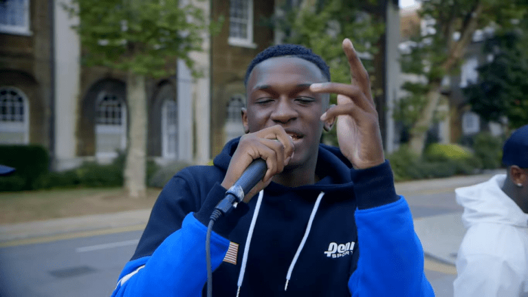 Hardy Caprio spits over bassline classic in