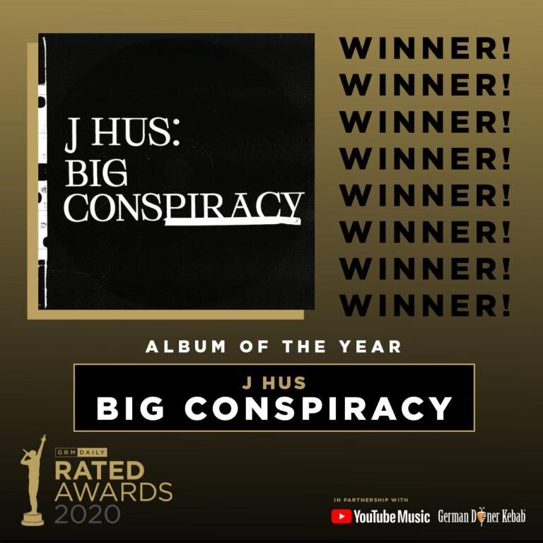 Rated Awards 2020: Album of the Year Winner Announced