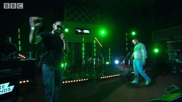 Pak-Man & Shaker perform their Mic Check freestyle at Maida Vale