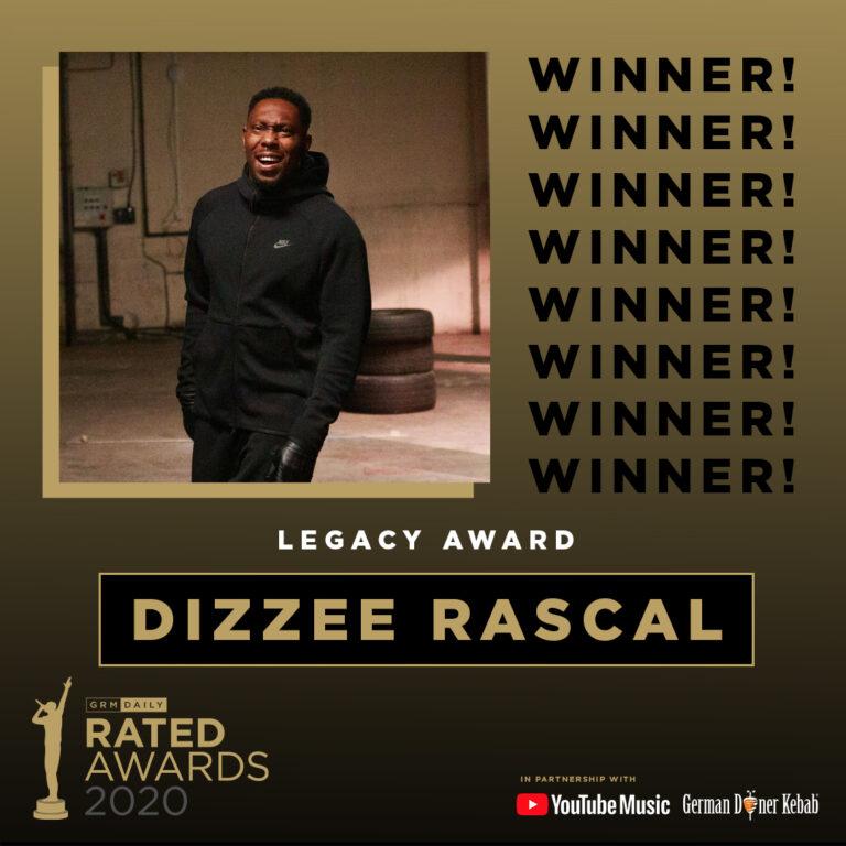 Rated Awards 2020: Legacy Award Winner Announced