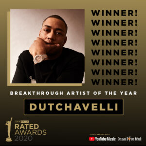 Rated Awards 2020: Breakthrough Artist of the Year Announced
