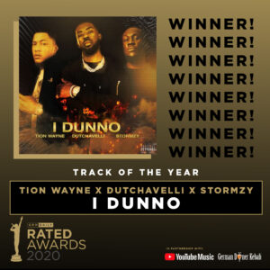 Rated Awards 2020: Track of the Year Winner Announced