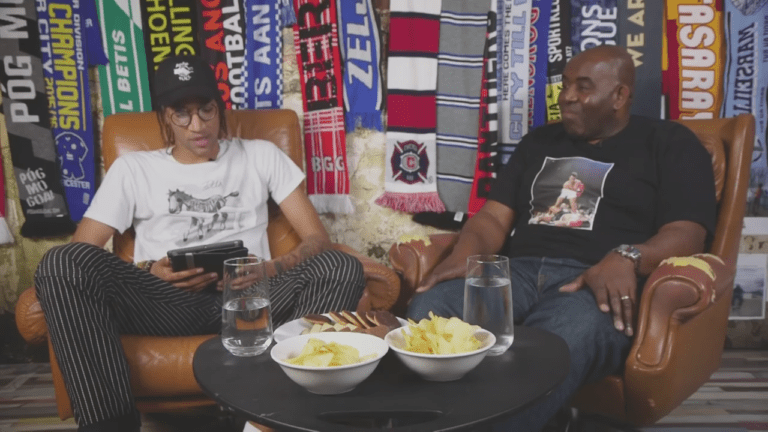 Arsenal Fan TV's Robbie joins Poet for exclusive interview