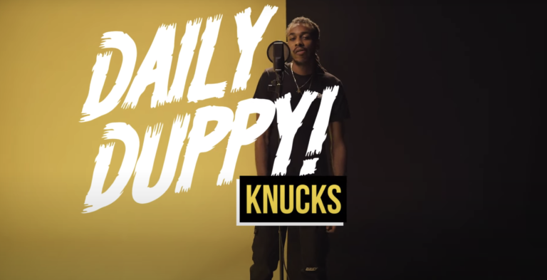 Premiere: Knucks Steps Up For Debut 'Daily Duppy' Session