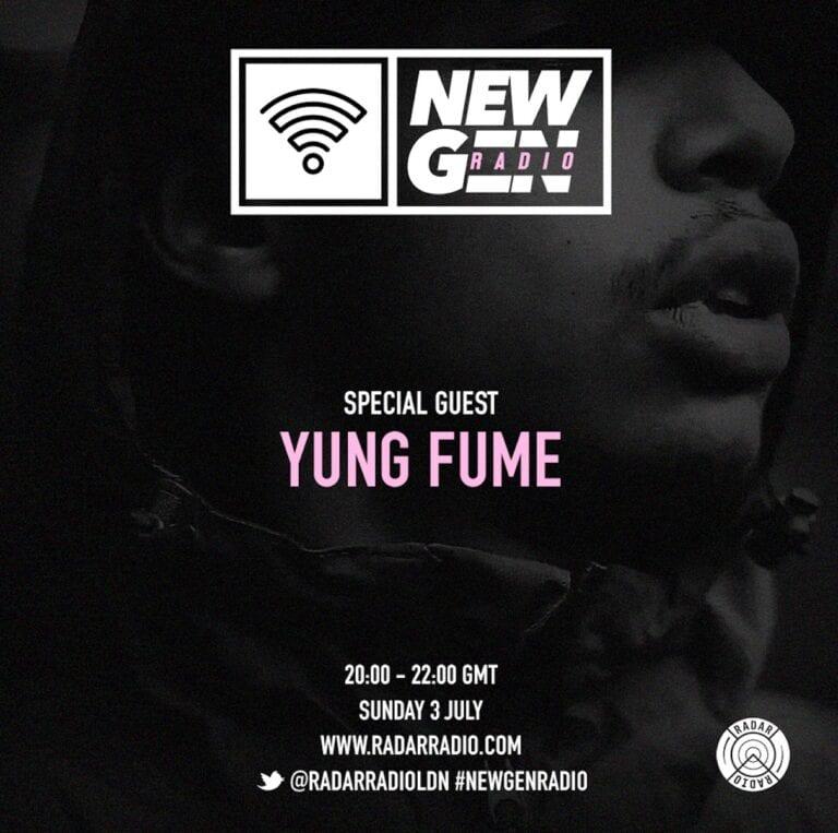 Yung Fume talks new single and influences on #NewGenRadio