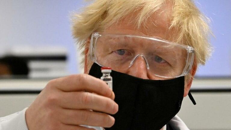 Boris Johnson Could Receive New Covid Vaccine in Live TV Broadcast