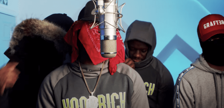 OFB's Izzpot, YF & DZ Join Fumez For Greazy 'Plugged In' Session