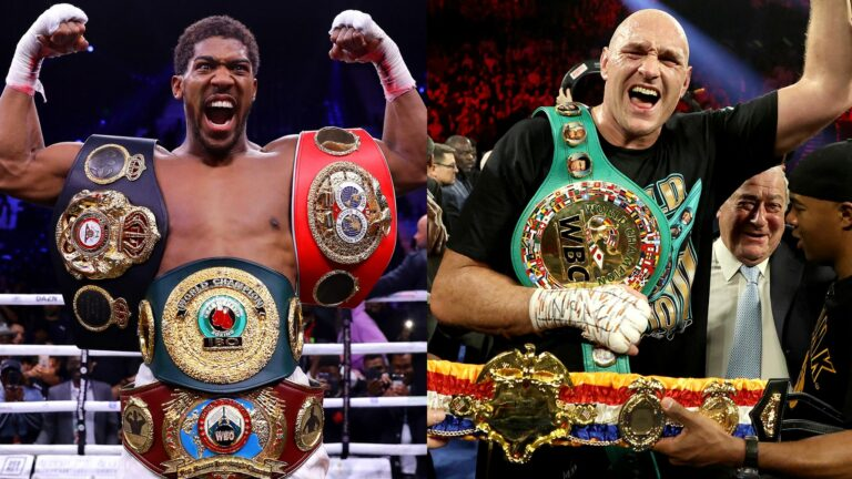 Anthony Joshua and Tyson Fury agree two fight deal for Heavyweight title unification