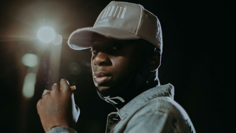 Watch Backroad Gee give fans a glimpse inside his studio session in Paris