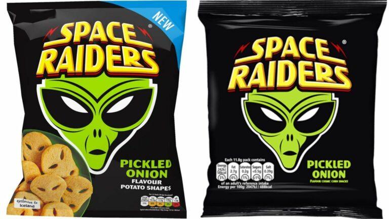 Space Raiders frozen potato snacks to go on sale
