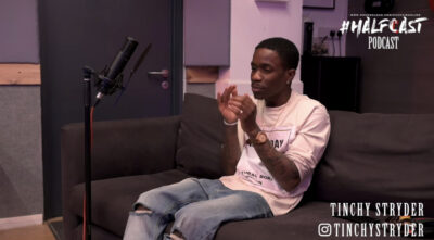 Watch Chuckie catch up with Tinchy Stryder in fresh episode of the Halfcast Podcast