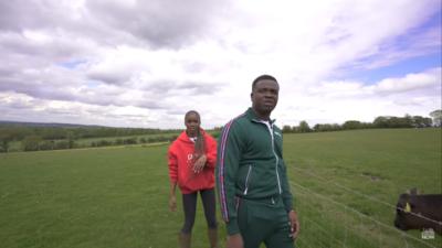 Michael Dapaah & Eva Apio Hit The Farm In Latest Episode of 'Try Something New'