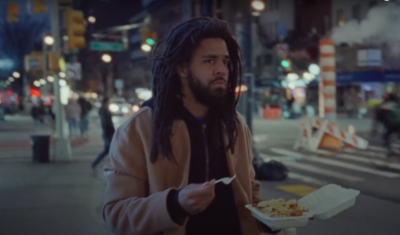 Watch J. Cole Cruise Around The Streets Of NYC In Brand-New