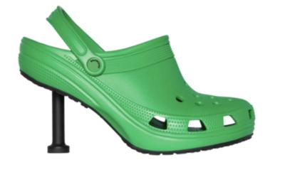 Balenciaga & Crocs Team Up To Create New High Heel Crocs
