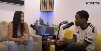 Carns Hill & Ellie Prohan Sit Down For A Chat On Latest 'Tinchy Talk' Instalment