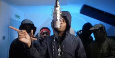 Lil Dotz Hits Us With Greazy 'Plugged In' Session With Fumez The Engineer
