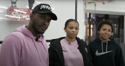 Watch Stevo The Madman & His Daughters Go Sneaker Shopping At Kick Game