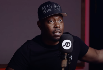 Dizzee Rascal Makes Rare Podcast Appearance On JD's 'In The Duffle Bag' Podcast With Chuckie