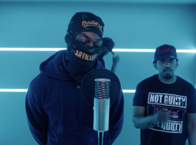 RA & Stinx Don't Hold Back In Joint 'HB' Freestyle