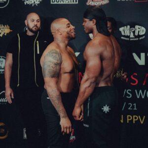 Bouncer wins MMA fight against Armz Korleone