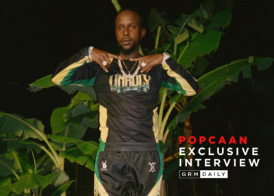 GRM Exclusive: Popcaan Talks Unruly x Daily Paper Collab, UK Music Dinner Parties & More