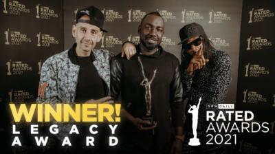 2021 Rated Awards: Legacy Award Winner Announced