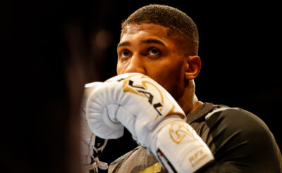 Anthony Joshua Signs Career-Long Promotional Contract With Eddie Hearn's Matchroom